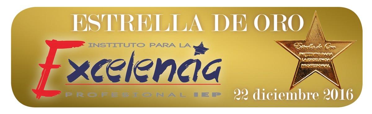 Estrella de Oro 22 dicembre 2016 Lopez Corcuera